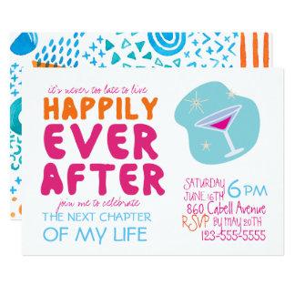 Invitación del fiesta del divorcio
