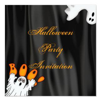 Invitación del fiesta del fantasma de Halloween