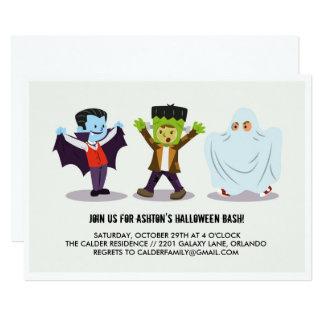 Invitación del fiesta del golpe de Halloween del