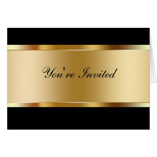 Invitación del fiesta del negocio tarjeta pequeña