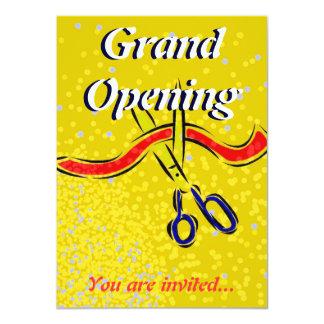 Invitación del fiesta del oro del lanzamiento de invitación 11,4 x 15,8 cm