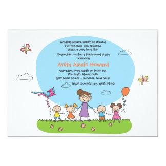 Invitación del fiesta del retiro del profesor