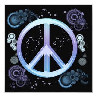 Invitación del fiesta del signo de la paz