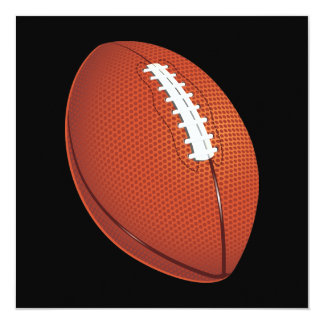 Invitación del fútbol invitación 13,3 cm x 13,3cm