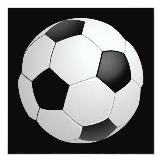 Invitación del fútbol del fútbol