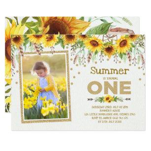 Flores De Verano Y Miel Abeja Tarjetas y etiquetas de regalo Cuadro De Punto De Cruz e