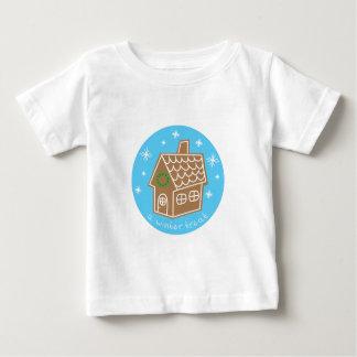 Invitación del invierno camisetas
