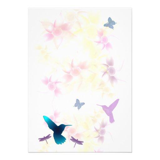 Invitaci n del jard n del colibr para el arreglo for Arreglo del jardin