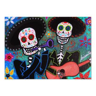Invitación del Mariachi de Dia de los Muertos