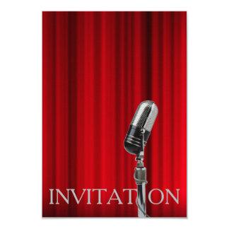 Invitación del Musical de la operación del teatro