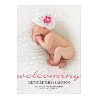 Invitación del nacimiento