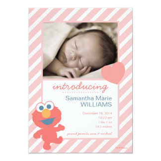 Invitación del nacimiento de Elmo