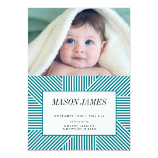 Invitación del nacimiento, invitación del bebé,