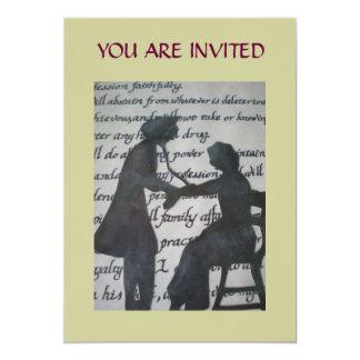 Invitación del oficio de enfermera