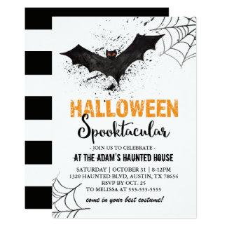 Invitación del palo de Halloween Spooktacular
