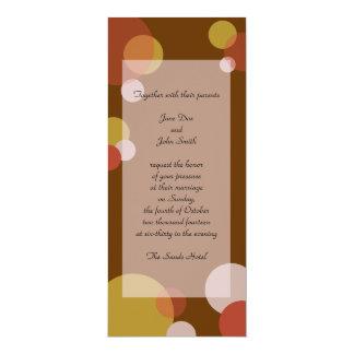 Invitación del paquete de la rata - Brown
