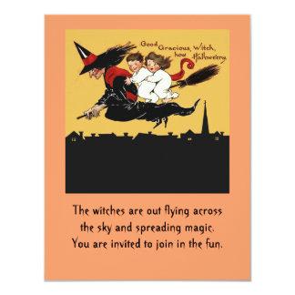 invitación del paseo de la bruja