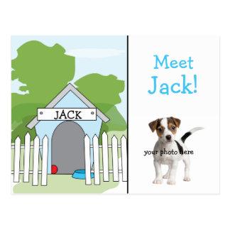 Invitación del perro - muchacho