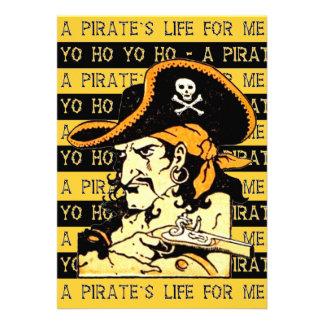 Invitación del pirata