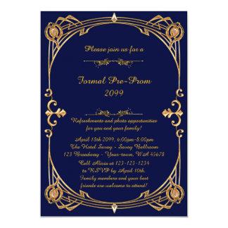 Invitación del Pre-Baile de fin de curso, pre