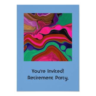 invitación del retiro
