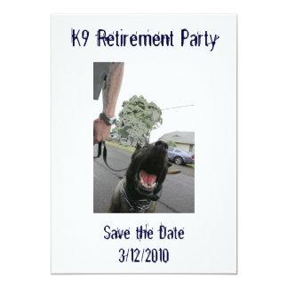 Invitación del retiro K9