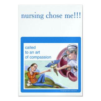 Invitación del tema de la enfermera