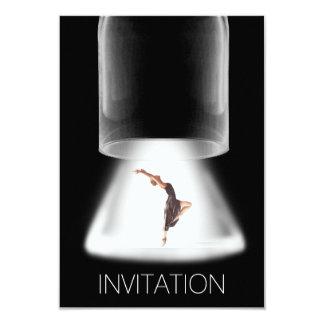 Invitación del Vip del ballet del concierto del