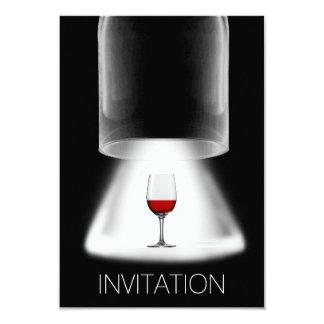 Invitación del Vip del cóctel de la degustación de