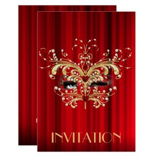 Invitación del Vip del fiesta de sorpresa de