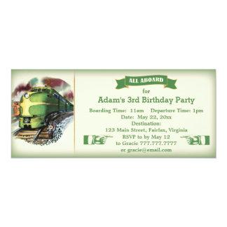 Invitación diesel de la fiesta de cumpleaños del