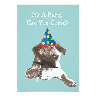 Invitación divertida de la fiesta de cumpleaños