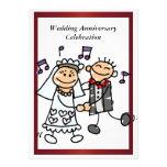 Invitación divertida del aniversario de boda