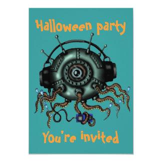 Invitación divertida del fiesta de Halloween del