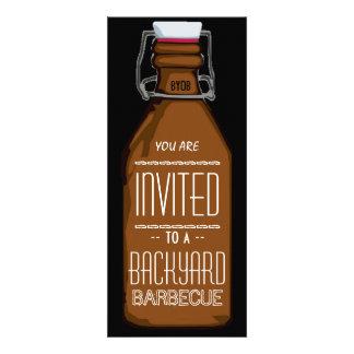 Invitación divertida del fiesta del Bbq de la bote