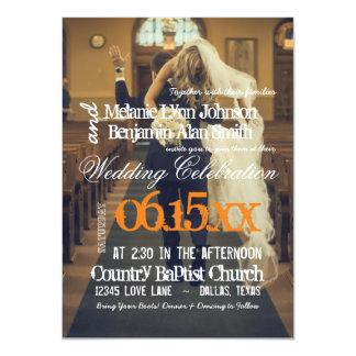 invitación divertida del secuestro/del boda de la