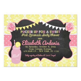Invitación dulce de la fiesta de bienvenida al