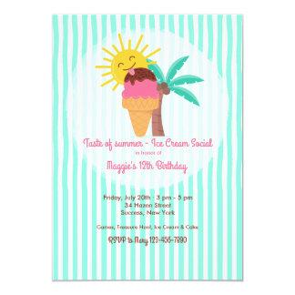 Invitación dulce del verano