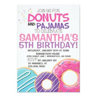 Invitación el | 5x7 del cumpleaños de los anillos