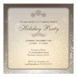 Invitación Elegant Holiday Party Company