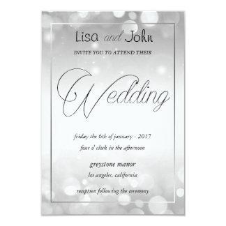 Invitación elegante de la bodas de plata