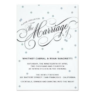 Invitación elegante de la bodas de plata del punto