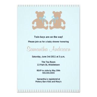 Invitación elegante de la fiesta de bienvenida al invitación 12,7 x 17,8 cm