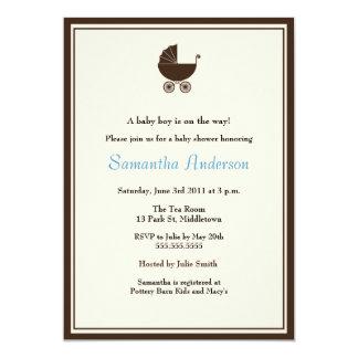 Invitación elegante de la fiesta de bienvenida al