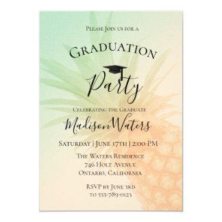 Invitación elegante de la fiesta de graduación de