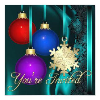 Invitación elegante de seda del trullo de las invitación 13,3 cm x 13,3cm