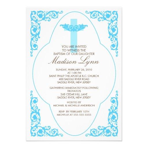 Invitaciónes para bautizo de niño - Imagui