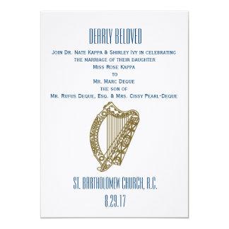 Invitación elegante del boda