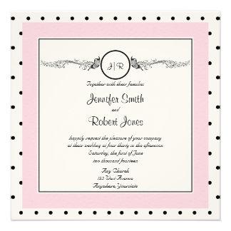 Invitación elegante del boda de la mariposa del lu
