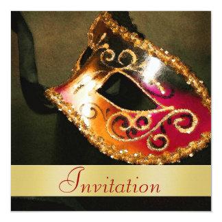 Invitación elegante del día de fiesta del navidad invitación 13,3 cm x 13,3cm